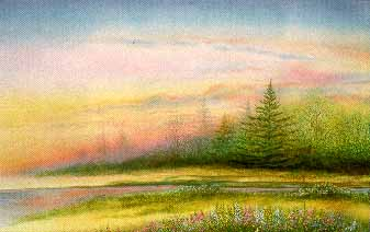 At Twilight Time- Signed By The Artist								 – Paper Lithograph – Limited Edition – 350 S/N – 19 x 30