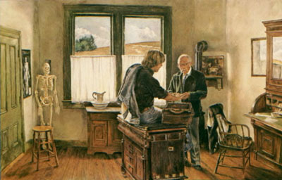 The Country Doctor- Signed By The Artist – PaperLithograph – Limited Edition – 950S/N – 19x28