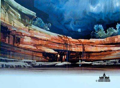 Canyon Falls- Signed By The Artist								 – Paper Lithograph – Limited Edition – 950 S/N – 19 x 28