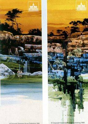 Evening Vista I & II- Signed By The Artist								 – Paper Lithograph – Limited Edition – 1000 S/N – 25 x 10
