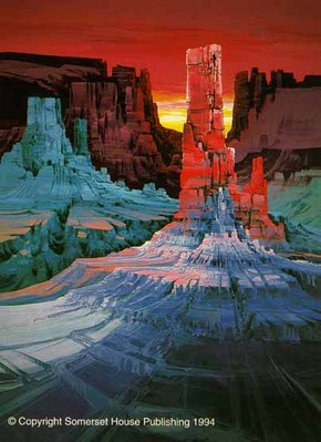 Monument Canyon- Signed By The Artist								 – Paper Serigraph – Limited Edition – 550 S/N – 40 x 32 –