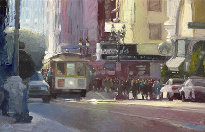 Other Side Of The Tracks- Signed By The Artist – CanvasGiclee – Limited Edition – 50S/N – 18x29