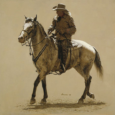 Buffalo Bill- Signed By The Artist – PaperLithograph  – Limited Edition  – 1250S/N  –  17 1/4x17 1/4