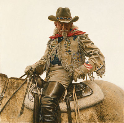 Buffalo Bill – 4th Of July- Signed By The Artist – CanvasGiclee  – Limited Edition  – 75S/N  –  18x18