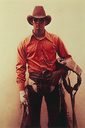 Don Walker – Bareback Rider- Signed By The Artist – PaperLithograph – Limited Edition – 1250S/N – 12x7 3/4