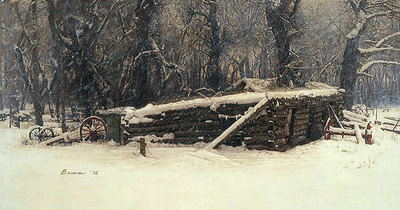 Old Sod House- Signed By The Artist								 – Paper Lithograph – Limited Edition – 1500 S/N – 10 1/2 x 20