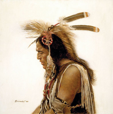 Pow-Wow Singer- Signed By The Artist – CanvasGiclee – Limited Edition – A/P – 11x11