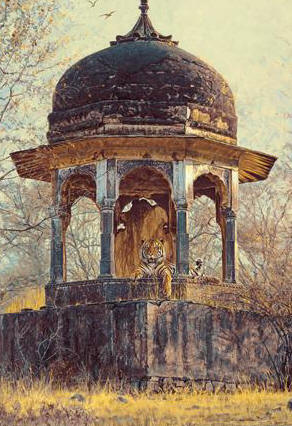 Jewel Of India- Signed By The Artist – CanvasGiclee – Limited Edition – 150S/N – 38x27
