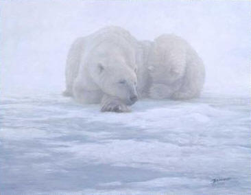 Shelter From The Storm- Signed By The Artist – CanvasGiclee – Limited Edition – 350S/N – 11x14