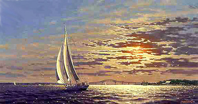 Journey's End- Signed By The Artist – CanvasGiclee – Limited Edition – S/N – 15x28