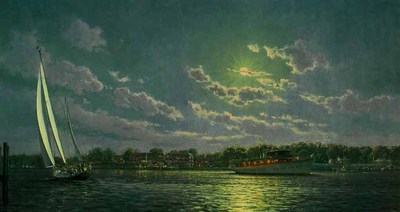 Passing In The Night (Remarqued)- Signed By The Artist – PaperLithograph – Limited Edition – 75A/P – 12x24