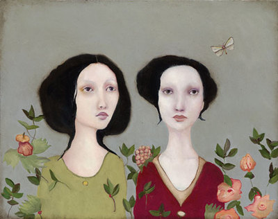 Adara And Her Sister- Signed By The Artist – CanvasGiclee  – Limited Edition  – 10A/P  –  16x20