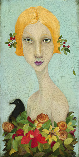 Beauty- Signed By The Artist – CanvasGiclee  – Limited Edition  – 100S/N  –  18x9  –