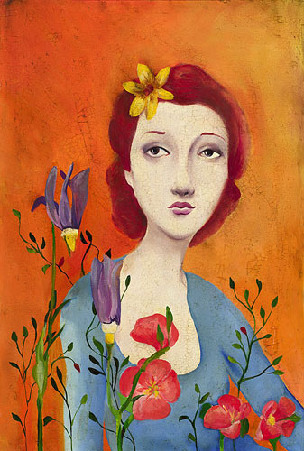 Fleur- Signed By The Artist – CanvasGiclee  – Limited Edition  – 100S/N  –  18x12