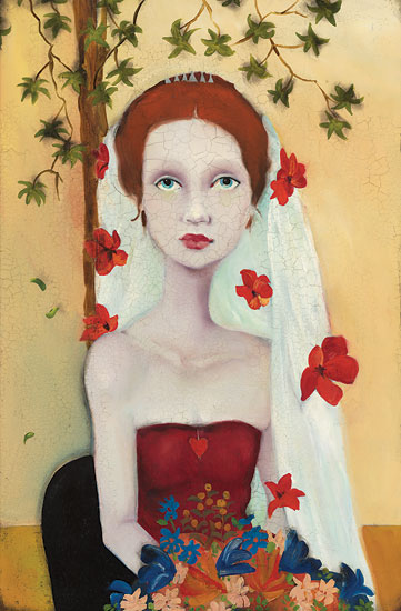 She Wanted Fame, Fortune And Flowers Too- Signed By The Artist – CanvasGiclee – Limited Edition – 100S/N – 18x12