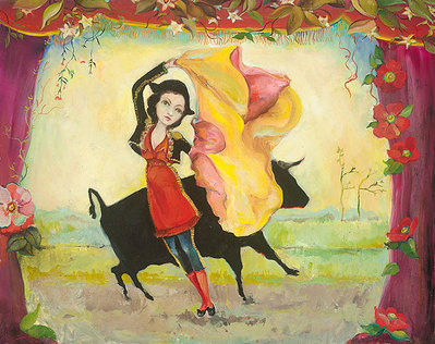 And Then They Danced- Signed By The Artist – CanvasGiclee – Limited Edition – 75S/N – 15x19