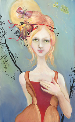 It Was Her Heart That He Loved- Signed By The Artist – CanvasGiclee – Limited Edition – 75S/N – 21x13