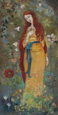 Mary Magdalene- Signed By The Artist								 – Canvas Giclee – Limited Edition – 100 S/N – 24 x 12