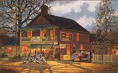 American Made- Signed By The Artist – CanvasLithograph – Limited Edition – 195S/N – 16x25 1/2 –