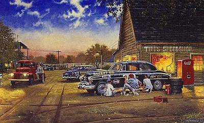 A Finishing Touch- Signed By The Artist – PaperLithograph – Limited Edition – 1950S/N – 16 1/2x27