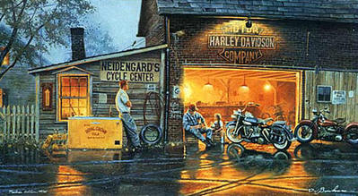 King Of The Road- Signed By The Artist – CanvasLithograph – Limited Edition – 195S/N – 16x27 –