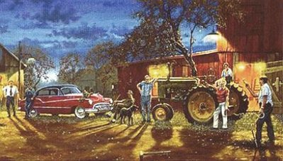 Pitchin' For A Double Ringer- Signed By The Artist – PaperLithograph – Limited Edition – 195A/P – 15 1/4x28