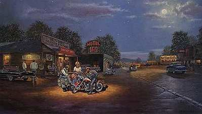 Route 66- Signed By The Artist – CanvasLithograph – Limited Edition – 660S/N – 16x27