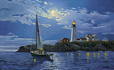 Serenity- Signed By The Artist – PaperLithograph – Limited Edition – 125A/P – 17 1/2x28