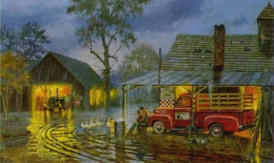 Shelter From The Storm- Signed By The Artist – CanvasLithograph – Limited Edition – 195S/N – 16x26