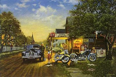 Spring Cleaning- Signed By The Artist – CanvasLithograph – Limited Edition – 1950S/N – 17x25 1/2