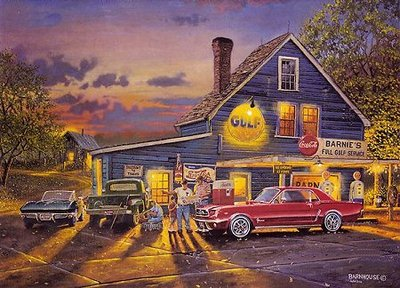 Taking The Back Roads- Signed By The Artist – PaperLithograph – Limited Edition – 1950S/N – 16x21 1/4