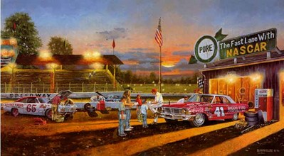 Yesterday's Hero- Signed By The Artist – PaperLithograph – Limited Edition – 1950S/N – 15 3/4x28