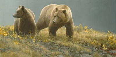 Alaska Light- Signed By The Artist								 – Canvas Giclee – Limited Edition – 36 A/P – 18 x 36