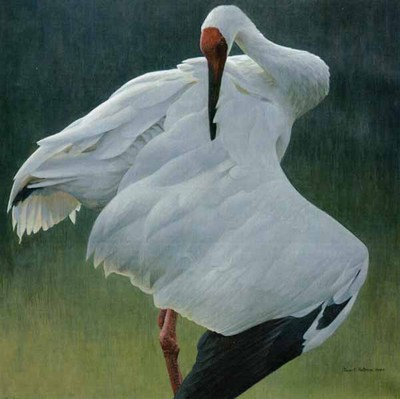 Defensive Stand- Signed By The Artist								 – Canvas Giclee – Limited Edition – 120 S/N – 31 x 31