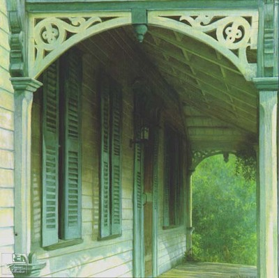 Lucas Porch- Signed By The Artist								 – Paper Lithograph – Limited Edition – 1250 S/N – 24 1/2 x 24 1/2