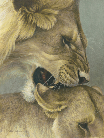 The Mating Game- Signed By The Artist – CanvasLithograph – Limited Edition – 28A/P – 21x16
