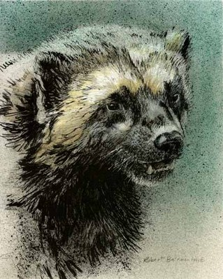 Predator Portfolio – Wolverines (Set Of 2)- Signed By The Artist								 – Paper Lithograph – Limited Edition – 76 A/P – 7 7/8 x 9 3/4