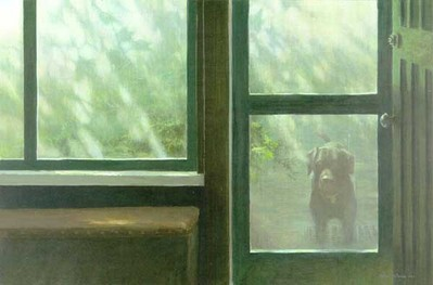 Screened Porch- Signed By The Artist – PaperLithograph – Limited Edition – 950S/N – 17x25 5/8