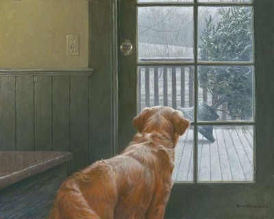Observing Christmas- Signed By The Artist – CanvasGiclee – Limited Edition – 180S/N – 24x30