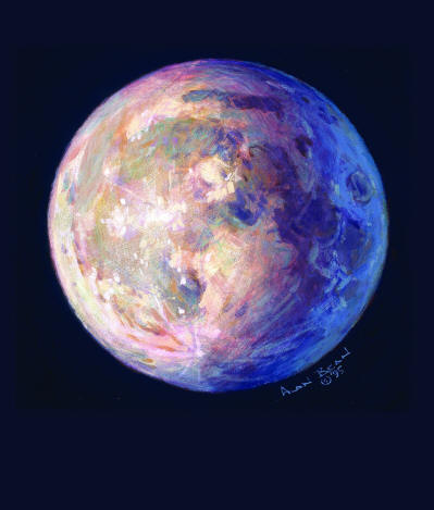 A Most Beautiful Moon- Signed By The Artist – CanvasGiclee – Limited Edition – 150S/N – 12x10