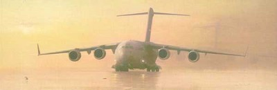 The Globemasters (C-17)- Signed By The Artist – PaperLithograph – Limited Edition – 950S/N – 15x37