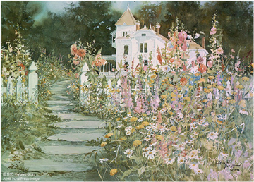 Pathway To The Past- Signed By The Artist – PaperLithograph  – Limited Edition  – 950S/N  –  19 1/4x27