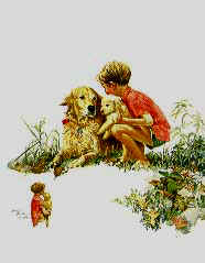 Puppy Time- Signed By The Artist – PaperLithograph  – Limited Edition  – 56A/P  –  22x17 1/2