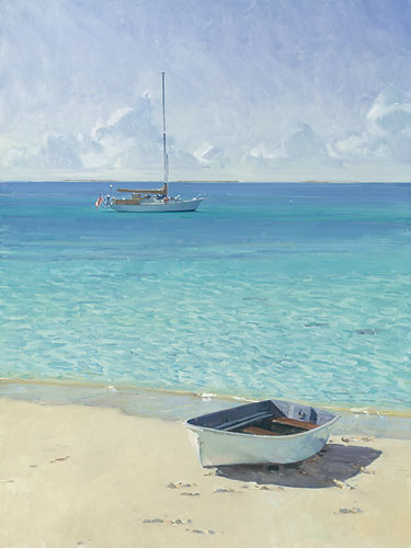Ashore At Soldier's Cay- Signed By The Artist								 – Canvas Giclee – Limited Edition – 50 S/N – 20 x 15