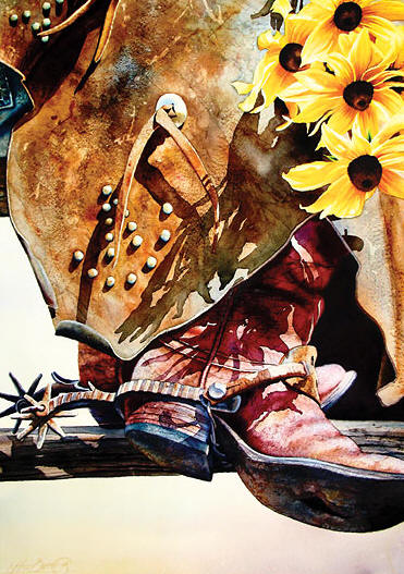 Black-Eyed Suzies For You- Signed By The Artist – PaperGiclee  – Limited Edition  – 75S/N  –  12x9