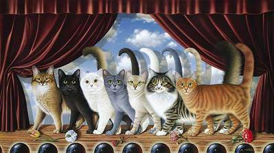 A Chorus Line- Signed By The Artist – PaperLithograph  – Limited Edition  – 950S/N  –  19 7/8x35
