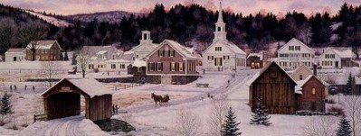 Twilight Glow- Signed By The Artist – PaperLithograph  – Limited Edition  – 950S/N  –  11 7/8x31