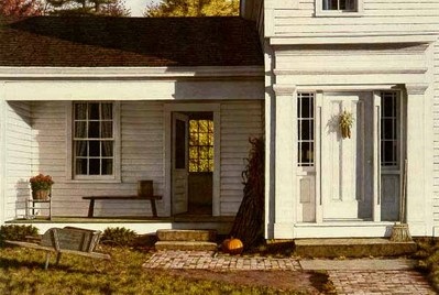 Welcome Home – Autumn- Signed By The Artist – PaperLithograph – Limited Edition – 1000S/N – 11 1/4x17