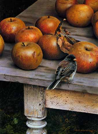 Apple Harvest- Signed By The Artist								 – Paper Lithograph – Limited Edition – 950 S/N – 16 3/8 x 12