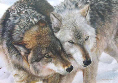 Cheek To Cheek- Signed By The Artist – CanvasGiclee – Limited Edition – 180S/N – 26x37